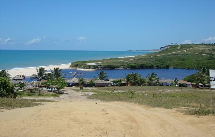 A mais bela das praias da Paraíba