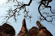 Formações rochosas surpreendem