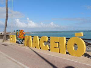 Toten Eu Amo Maceió, em Ponta Verde