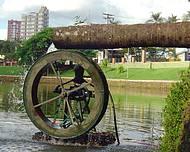 Roda d'água.