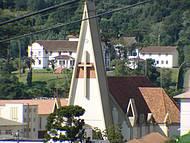 A torre da Igreja Matriz é um marco de Rio Negrinho!