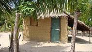 Casinhas típicas dos nativos dessa Ilha