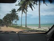 Indo para praia