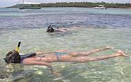 Mergulhos nas piscinas naturais