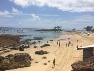 Vista do Mirante antes da Segunda Praia