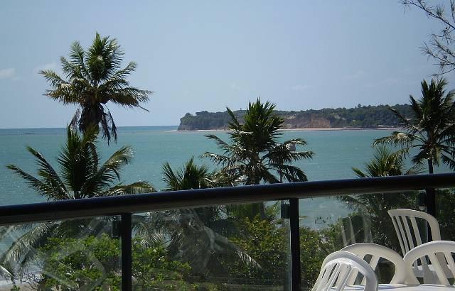 Vista do hotel para  praia de Cabo Branco e Ponta do Seixas