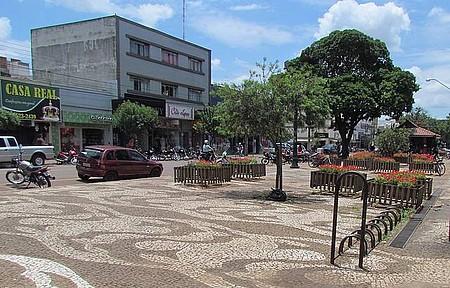 Centro da cidade - Norte do Paraná