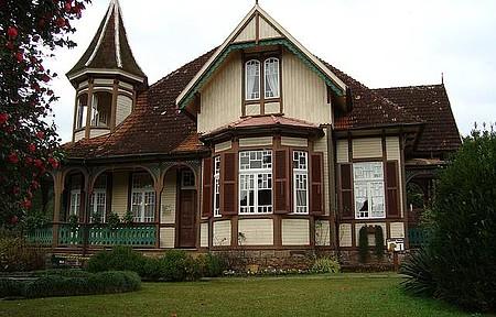Casa da família Franzen - Casa típica,serve Strudel de maçã.
