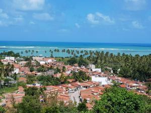 Mirante com vista belíssima para a Praia de São Miguel dos Milagres