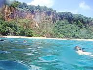 Mergulho na Praia do Sancho
