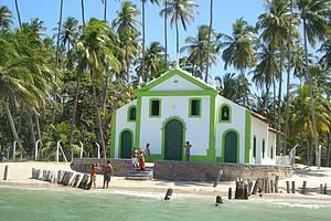 Passeio de Catamar� at� a Ilha de Santo Aleixo e Praia de Carneiros
