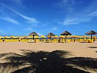 Belíssimo visual na praia do Gunga
