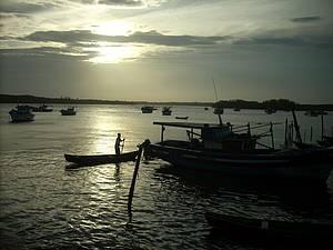Pôr do sol: Rio ganha belas nuances -