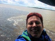 encantado de aquas.... em rio Amazonas...