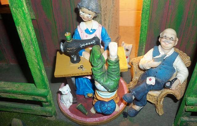 Miniaturas Expostas no Parque