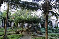 Jardim interno do Mosteiro de Stº Antônio