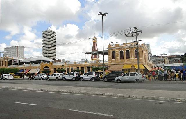 Vista do Mercado Municipal de Aracaju