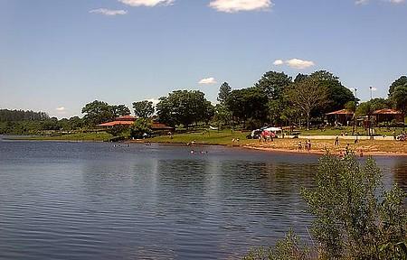 Águas de Santa Bárbara - Lago -Prq dos Lagos