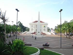Praça Povos da Floresta - Palácio Belíssimo!