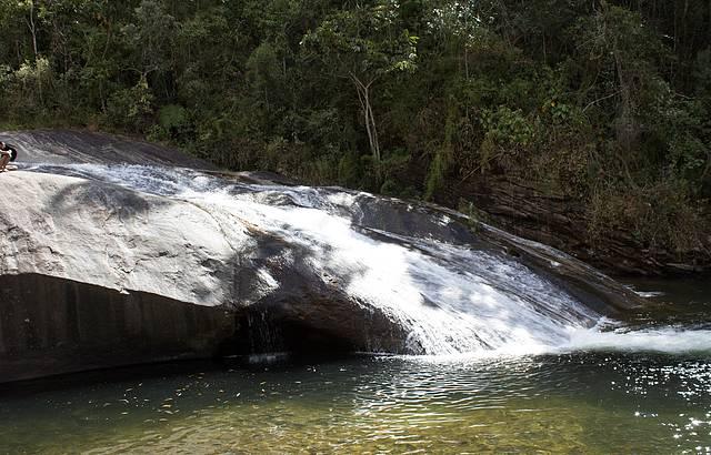 Linda cachoeira em Maromba