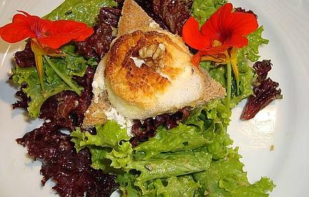 Cremerie Genève - Salada com queijo de cabra