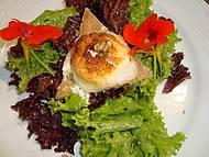 Salada com queijo de cabra da Cremerie Genève