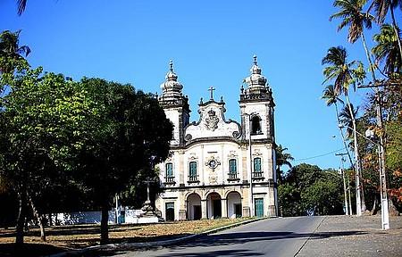 Monte Guararapes - Igreja de N.Sra dos Prazeres tembela fachada