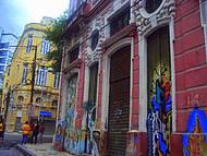 Museu no meio da cidade