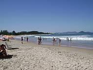 Praia da Gamboa, muito sossegada