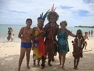 Praia de Coroa Vermelha (Índios Pataxós)