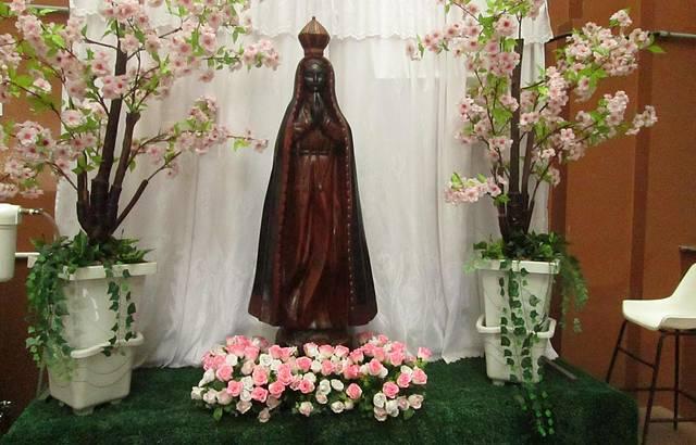 Altar no Hotel do Papa