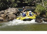 aventura acontece nas corredeiras do rio do Peixe