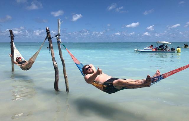 Praia do Xaréu - Vida boa!!