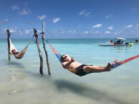 Visita a Maceió - Praia do Xaréu - Vida boa!!