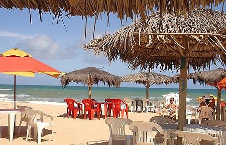 Barracas na praia - Um paraíso!