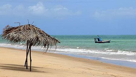 Barra do Gramame - Muito calma a praia e segura