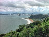 Balneário Camboriu vista do Morro do Careca