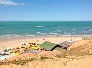 Beleza rústica de Morro Branco, no Ceará