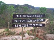 Entrada para Chachoeira
