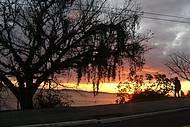 O lindo pôr do sol do Guaíba !!