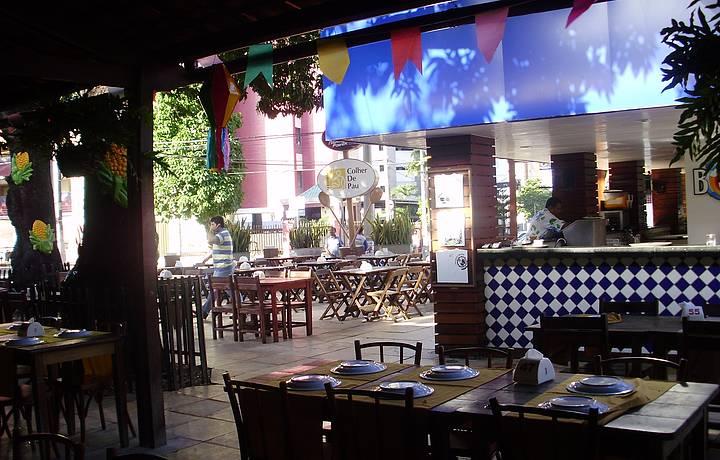 Espaço do Restaurante Colher de Pau