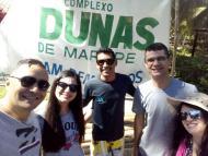 Com nosso amigo e guia Moura.