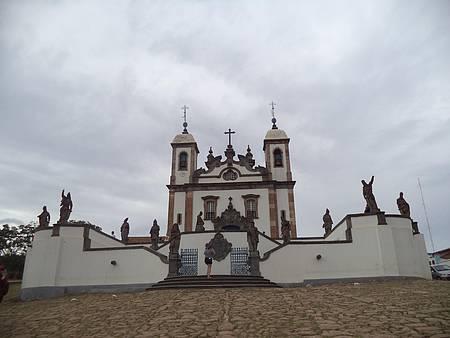 Igreja do Bom Jesus de Matosinhos - Lindas obras do escultor Aleijadinho