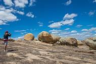 Formações rochosas encantam os visitantes