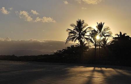 Fim de tarde na Praia de Guaratuba, Bertioga