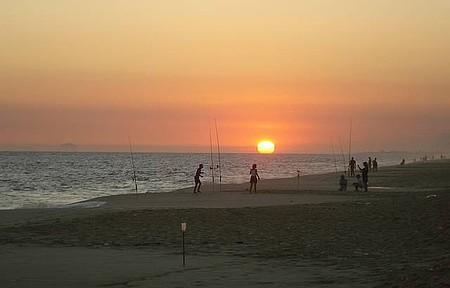 Barra de Maricá - Pôr-do-sol visto da Barra