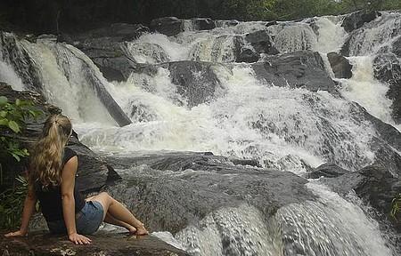 Cachoeiras da Meia-Lua e da Usina Velha - Cidade é cercada por quedas d´água