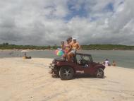 Em barra do Gramame - litoral sul da Paraíba