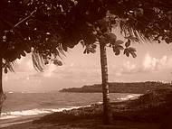 Final de tarde na Praia de Araçaipe