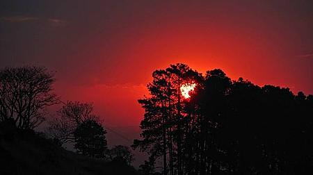 Pico do Olho D'água - Pôr do sol no ponto mais alto da cidade